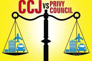 CCJ vs Privy Council