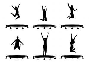 trampoline-vector
